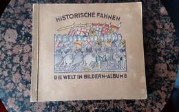 Zigarettenbilderalbum Historische Fahnen - Other