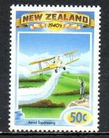 NOUVELLE-ZELANDE. N°1264 De 1993. Avion. - Aerei