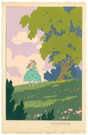 "VERSO L'AMORE ---  ""Ars Nova""  G. MESCHINI --- (Dipinte A Mano) --- Carte Peinte --- Série N° 205 --- - Other Illustrators"