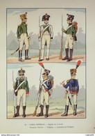 Garde Impériale-VOLTIGEUR-CHASSEUR-LIEUTENANT-(Hector Large) - 1914-18