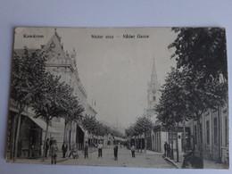 CPA - Komarom - Nador Utca - Nader Gasse - Bien Animée, 1915 - Ungheria