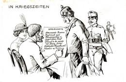 CPA - WW1 WWI Propaganda Propagande - KAISER - Umoristica Satirica, Humour Satirique - NV - KV480 - Oorlog 1914-18