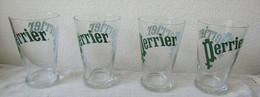 4 Verres PERRIER - Perrier