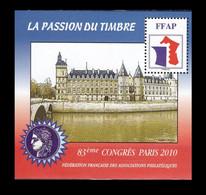 Feuillet Souvenir FFAP Paris 2010 - Sonstige