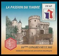 Feuillet Souvenir FFAP Metz 2011 - Sonstige