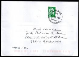 Enveloppe AP SPID 148 Sodexo La Poste 00200 HUB ARMEES Du 02 04 2021 Nouvelle Oblitération - Cachets Militaires A Partir De 1900 (hors Guerres)