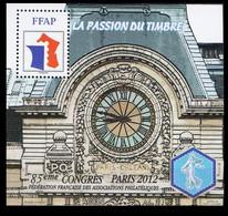 Feuillet Souvenir FFAP Paris 2012 - Sonstige