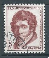 Suisse YT N°567 Pro Juventute 1955 Ch. Pictet De Rochemont Oblitéré ° - Used Stamps