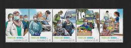 CM12 Australie 2021 ** Frontline Heroes Covid-19 - Mint Stamps