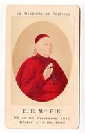 S15-016 CDV (carte De Visite) Le Cardinal De Poitiers - Colorisée - Ancianas (antes De 1900)