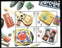 2007 Beatles Memorabilia Mi GB BL34Sn GB 2420 Yt GB BF44 Sg GB MS2692 AFA GB 2679-82 MNH Postfr. Xx - Blocks & Kleinbögen