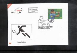 Austria / Oesterreich 2010 Tennis Roger Federer FDC - Tenis