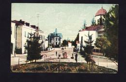 POSTCARD-ROMANIA-CIMPULUNG-MUSCEL-ARGES-PIATA-REGALA-SEE-SCAN - Rumania