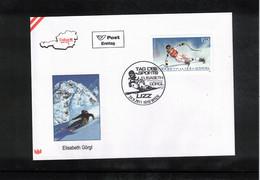 Austria / Oesterreich 2011 Skiing Elisabeth Goergl FDC - Ski