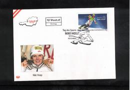 Austria / Oesterreich 2007 Skiing Niki Hosp FDC - Ski