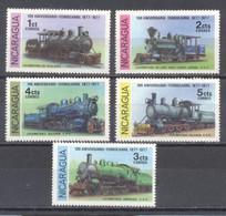 Nicaragua 1978, Trenes, Nuevos - Chile