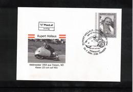 Austria / Oesterreich 2004 Motorbikes Races Rupert Hollaus FDC - Motos