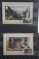 Bailiwick Of Guernsey, 5 Maximumkarten Gemälde, 1980, Komplett - Guernsey