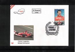 Austria / Oesterreich 2006 Car Races Formula 1 Legends Michael Schumacher FDC - Automovilismo