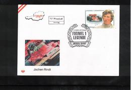 Austria / Oesterreich 2005 Car Races Formula 1 Legends Jochen Rindt FDC - Automovilismo