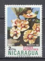 Nicaragua, Flores Silvestres,  Nuevos - Chile
