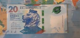 HONGKONG 20 DOLLARS P 218a 2018 UNC SC - Hong Kong