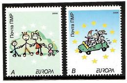 Moldova / PMR Transnistria . EUROPA 2006. Integration. 2v:A,B - Moldova