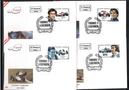 Austria / Oesterreich 2006 Car Races Formula 1 Legends FDC - Automovilismo
