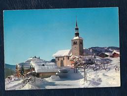 St-Nicolas-la-Chapelle (Savoie) - Alt. 917 M. - L'église Sous La Neige - Sonstige Gemeinden