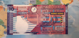 HONGKONG 10 DOLLARS P 400b 2002 UNC SC - Hong Kong