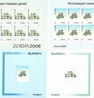 Moldova / PMR Transnistria . EUROPA 2006. Integration. Booklet. - Moldova