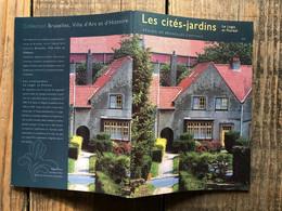 Les Cités-jardins Le Logis Et Floréal Régionalisme Bruxelles Ville D'art Et D'histoire 34 Watermael Boisfort - Belgique