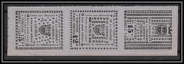 85503/ Maury N°4/6 Grève De Saumur 1953 Cote 75 Euros Violet Bande - Staking
