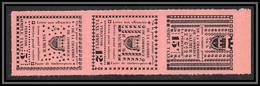 85499/ Maury N°4/6 Grève De Saumur 1953 Cote 75 Euros Rose Bande - Staking