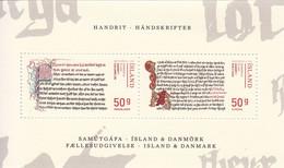 2014 Iceland Law Of Zealand JOINT ISSUE Denmark Europa Souvenir Sheet  MNH @ BELOW FACE VALUE - Ungebraucht