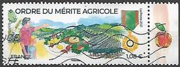 "FRANCE Issu De La Mini-feuille "" Ordre Du Mérite Agricole "" OBLITERE - Gebruikt"