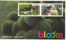 2014 Ireland Bloom Gardening Vegetables Garden Plants Souvenir Sheet  MNH @ BELOW FACE VALUE - Nuevos