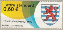 Luxembourg 2014 ATM Armoirie Neuf ** - Postage Labels