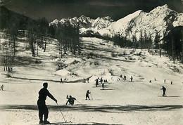 05 - Monetier Les Bains - Champs De Ski - Hiver - Neige - Skieurs - Voir Timbre - CPM - Voir Scans Recto-Verso - Other Municipalities