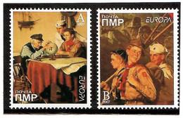 Moldova / PMR Transnistria . EUROPA 2007. Scouting. 2v:A,B - Moldova