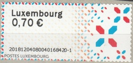 Luxembourg 2018 ATM Logo Visitez Le Luxembourg Neuf ** - Postage Labels