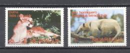 Nicaragua, 1974, Fauna , Nuevos - Chile