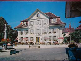 "SUISSE - HERZOGENBUCHSEE - Hôtel Restaurant ""Sonne"". - BE Berne"