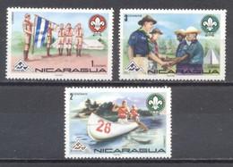 Nicaragua, 1974 Scoutismo , Nuevos - Chile