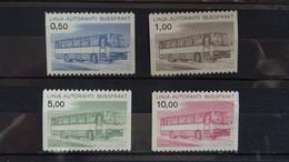 1981 Yv CP 14-17 MNH A14-15 - Nuovi