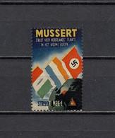 Deutsches Reich Nederland Poster Cinderella Propaganda Vignette Postfrisch - Erinofilia