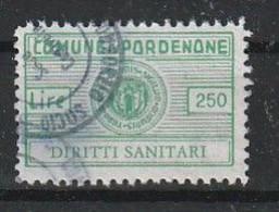 Pordenone. Marca Municipale (marca Comunale) Diritti Sanitari L. 250 - Other