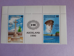 Nouvelle-Calédonie** Yt PA269-270 Exposition Philatélique Internationale Auckland 1990 - Unused Stamps