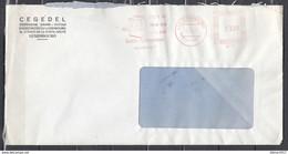 Brief Van Luxembourg Strem Im Haus Das Ganze Jahr Geschirrspulmaschine Wunderbar ! - Machine Stamps (ATM)