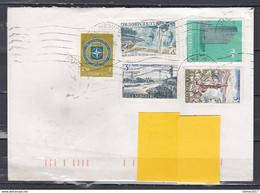 Brief Van Luxembourg Naar Mortsel - Covers & Documents